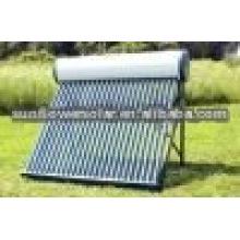 Calentador de agua solar de presión compacta