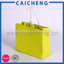 bolsa de papel personalizada para ir de compras