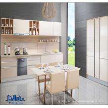 European Style Framelss Melamined Particle Board Küchenschrank