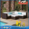 Mobília secional do jardim da casa da sala de visitas do sofá