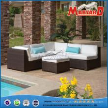 Sofá seccional Sala de estar Muebles de jardín