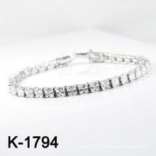 Мода Серебряный Micro Pave CZ ювелирные изделия браслет (K-1794. JPG)