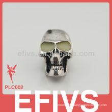 Moda de bricolaje T3D calavera aleación de metal Atiques Coppering pendiente accesorios