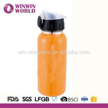 Bouteille thermos 550 ml de thermos de flacon d'acier inoxydable de double paroi colorée