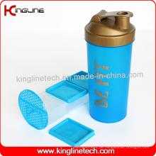 1000ml Plastik Protein Shaker Flasche mit Mixer Mixer Ball Inside (KL-7060)