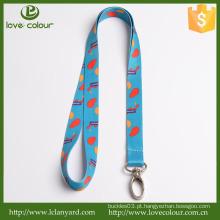 Lovecolour personalizado titular bilhete cordão com gancho de metal
