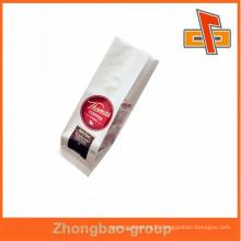 Excellent printing coffee packaging kraft paper valve bag