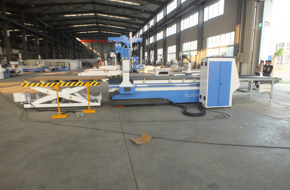 atc cnc router with automatic loading