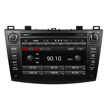 MAZDA 3 2009-2012 Mounted Dvd Player