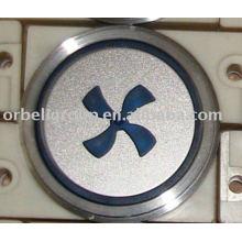 Лифтовая кнопка для вентилятора, Подъемные части