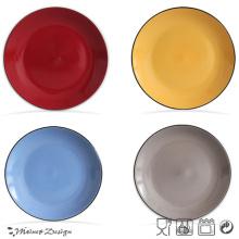 Bulk White Ceramic Ceramic Plate
