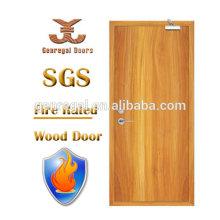 Высокое качество стандарта bs476 деревянные огнезащите лаком противопожарные двери