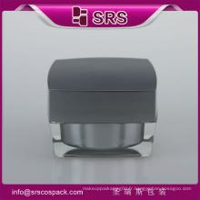 Vente chaude et récipient cosmétique en acrylique à haute qualité pour soins de la peau