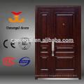 House room Luxury armor entry steel core wood door
