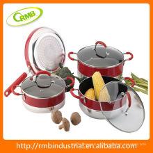 Conjunto de utensilios de cocina