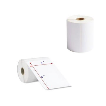 Blank 4x6 inch 100x150mm direct thermal paper roll