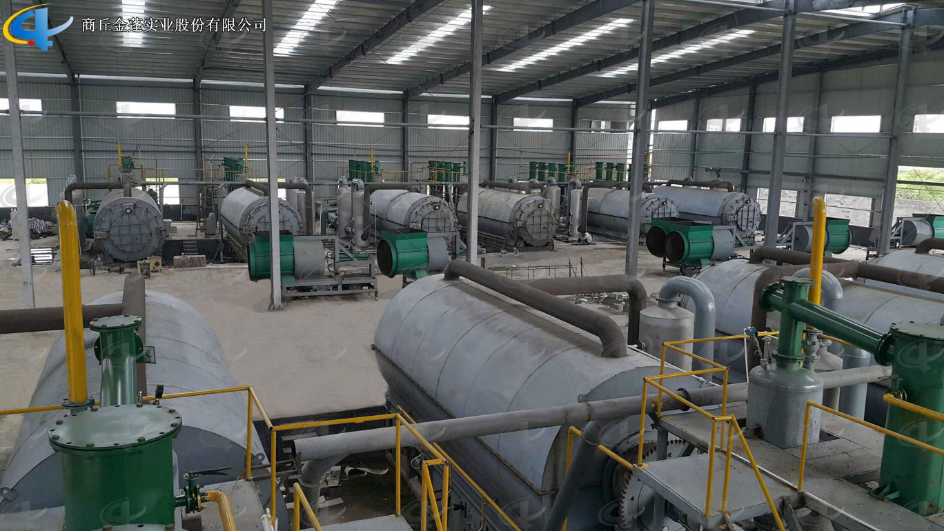 Batch Waste Plastic Pyrolysis Plant