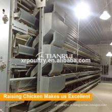 Sistema de levantamento automático novo da gaiola de grelha do equipamento do quadro H de Tianrui