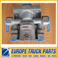 Peças do caminhão da válvula de relé 973 001 010 7