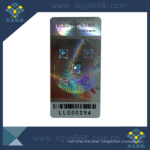 Barcode Hologram Anti-Counterfeiting Label Sticker