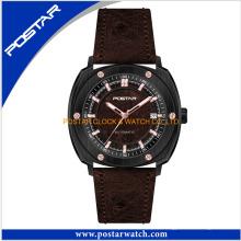 Logotipo personalizado relojes de cuarzo de marca de lujo al por mayor para hombres