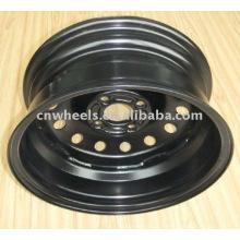 Roue de roue noire 16x6.5J pour voitures