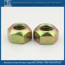 Tuercas de fijación del acero de carbono galvanizado DIN6925 DIN980V