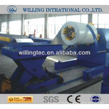 Máquina de desenrolamento de aço hidráulico de 10 toneladas