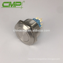 Metal Stainless Steel Flat Head Push On Push Off Switch