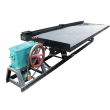 Alluvial Gold Washing Machine Shaking Table for Sale
