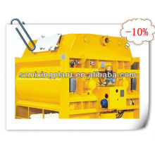 MS500 twin-shaft electric concrete mixer