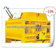 MS500 twin-shaft electric concrete mixer