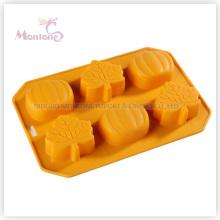 FDA & LFGB utensílios de cozinha Baking Halloween-Shaped Silicone Mold Bolo
