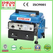 600W Key Start Copper Wire Portable and Silent Gasoline Generator
