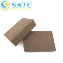 Bloque de lijado de plástico SATC-EVA y esponja de lijado de diamante