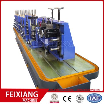 Weld pipe making machine for carbon steel