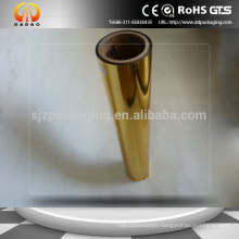 24mic Pet Metallized Film,Gold Metallic Thermal Lamination Film