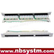 "24 ports UTP Cat5e Patch Panel 19 ""1U"