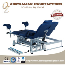 High Quality Australian Standard China Medical Grade Electric Hospital 3 Section Gynecological Examination Table Manufacturer