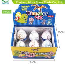 Новый красочный выращиванию питомца Dinasour яйца яйцо Инкубационное игрушки 7*9см