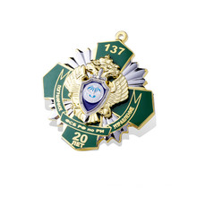 Machen Sie Ihre eigenen Abzeichen, Metallabzeichen (GZHY-KA-023)