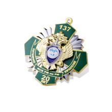 Faça seus próprios emblemas, emblemas de metal (GZHY-KA-023)