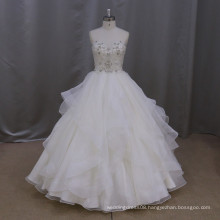 M806 Heavy beading stone sweetheart wedding gown bridal