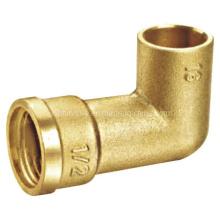Латунный фитинг / латунный патрубок / латунный фитинг трубы / латунное колено (a. 0341)