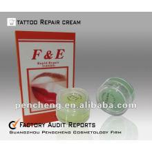 F & E Creme de reparação de cicatrizes de tatuagem profissional