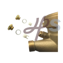 Brass and plastic water meter adjust screw kit