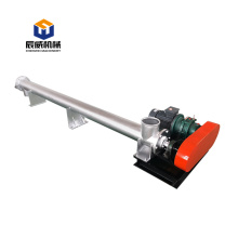 Horizontal shaftless Screw Conveyor sugar