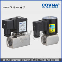 Válvula de cierre de solenoide para AC220V de alta temperatura o DC24 V