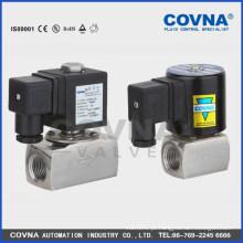 Válvula solenóide de corte para alta temperatura AC220V ou DC24 V