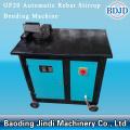 Rebar máquina de doblado de estribo de barra de acero al carbono